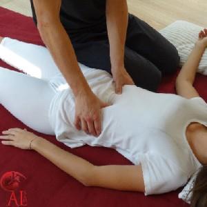 Nantes shiatsu massage bilan préventif thérapeutique sol bien-être médecine énergétique méridien méridiens alternative traditionelle traditionnel chinois chinoise habillé Antoine lahorgue